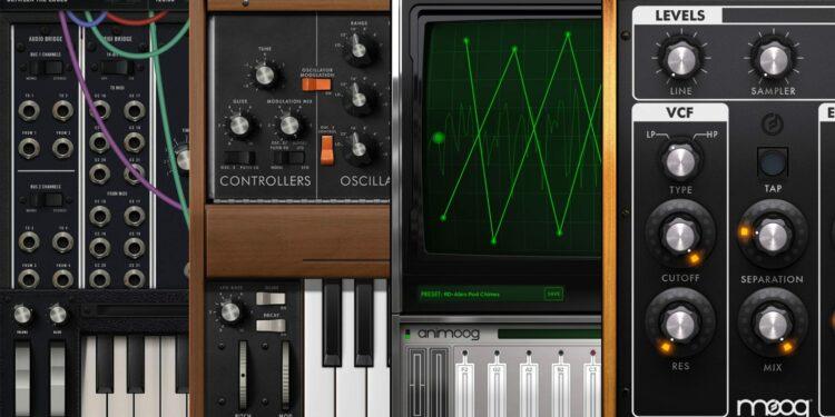 Синтезаторы Moog для iOS