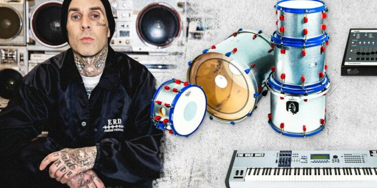 Трэвис Баркер продает оборудование Blink-182 на Reverb