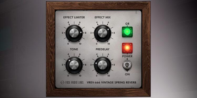 Fuse Audio Labs VREV-666 бесплатный VST-ревербератор