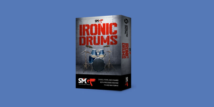 Glenn Fricker SMG Ironic Drums