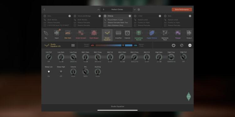 Kemper Profiler Rig Editor для iPad