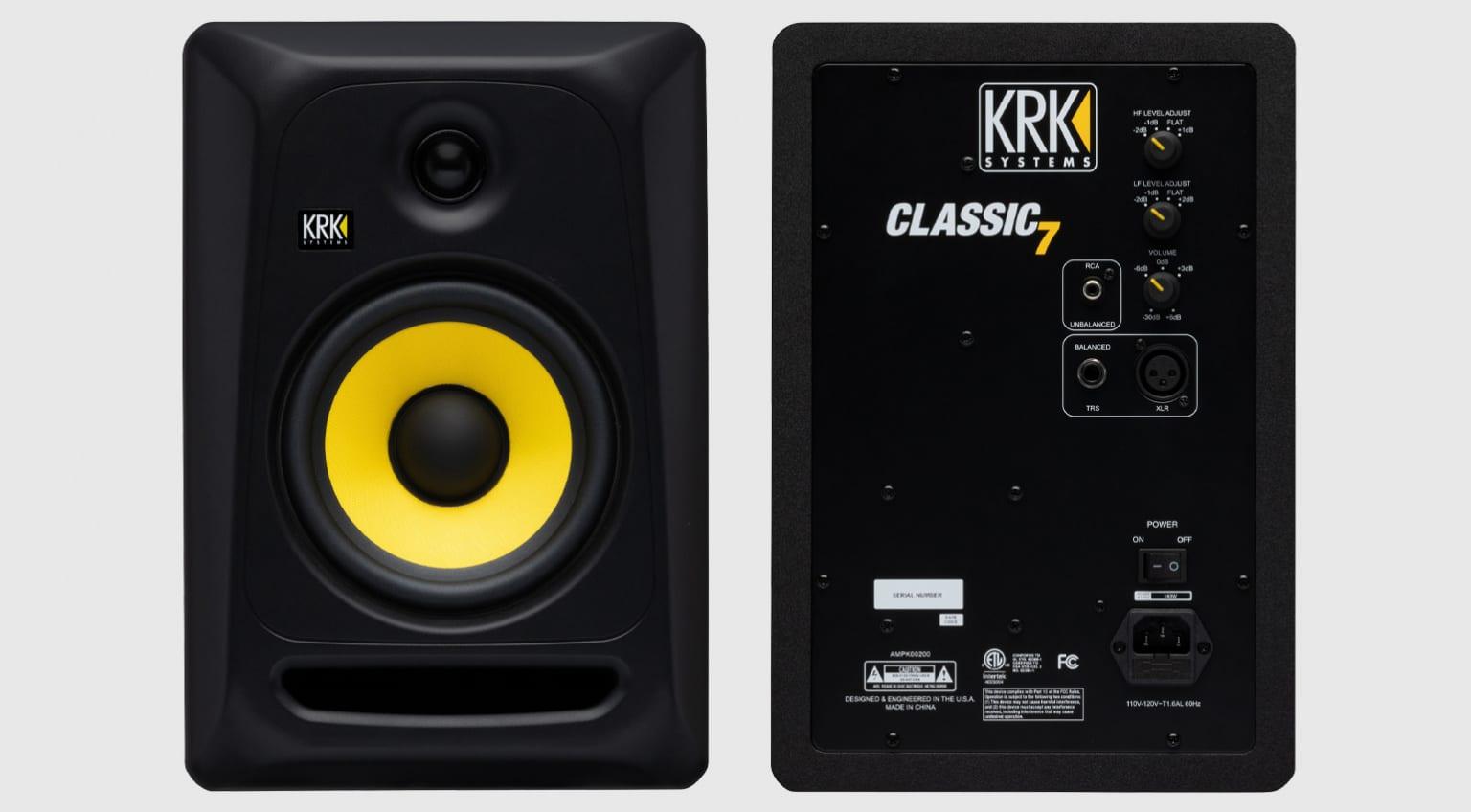 Студийный монитор KRK Classic 7