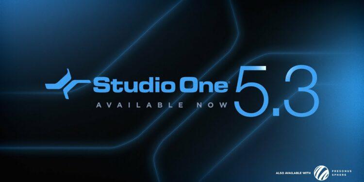 Вышел PreSonus Studio One 5.3
