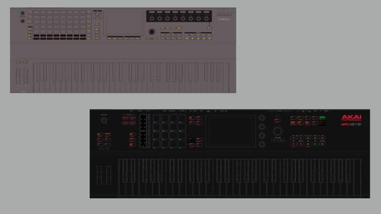 Akai MPC Key 61 и Pro Force 6 найдены в новой прошивке 2.10