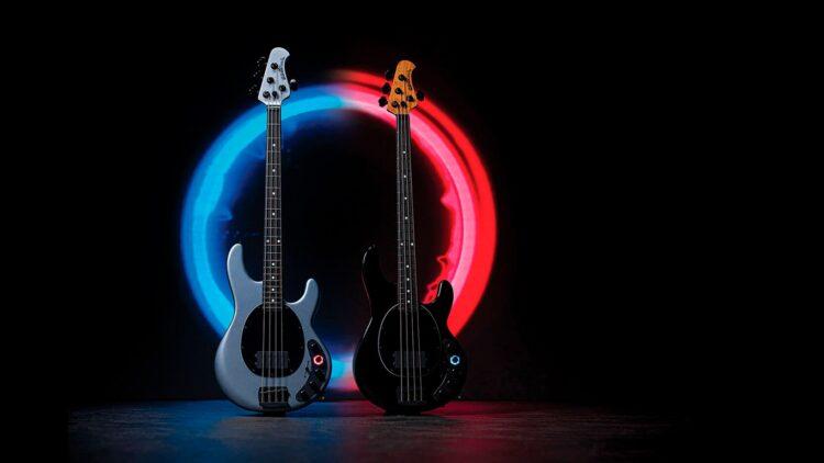 Бас-гитара Ernie Ball Music Man Darkray Bass Darkglass Electronics
