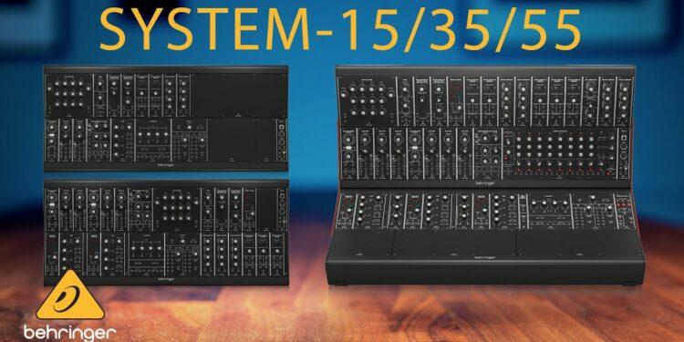 Behringer SYSTEM-15 SYSTEM-35 SYSTEM-55