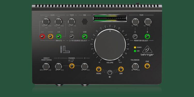 Behringer Studio L мониторный контроллер аудиоинтерфейс