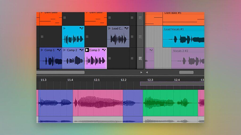 Bitwig Studio 4 Takes Comp