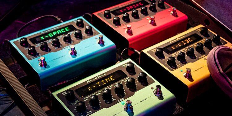 IK Multimedia X-Gear серия гитарных педалей эффектов от создателей AmpliTube