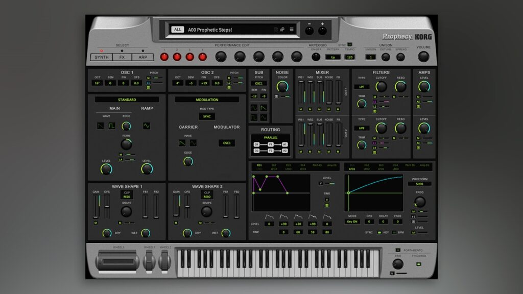 Korg Prophecy Collection 3