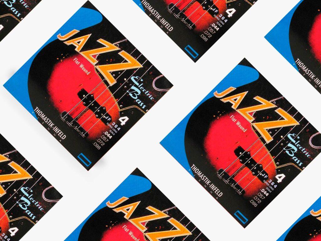 Лучшие струны для бас-гитары Thomastik-Infeld Jazz Flat Wound Bass Strings