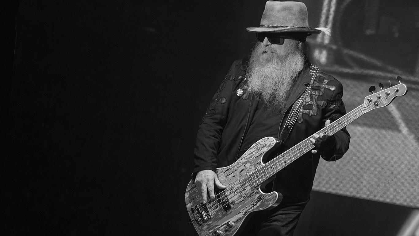 Басист ZZ Top Дасти Хилл скончался в возрасте 72 лет