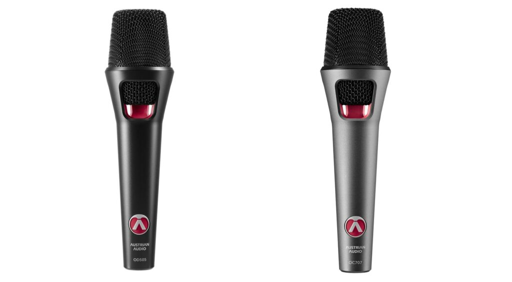 Austrian Audio OD505 и Austrian Audio OC707