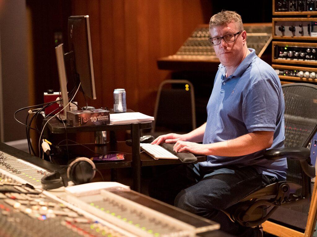Даррелл Торп звукорежиссер Foo Fighters