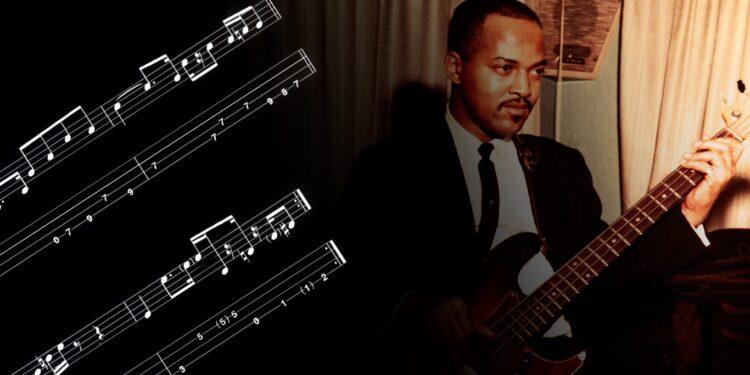 Джеймс Джеймерсон упражнения для бас-гитары Motown