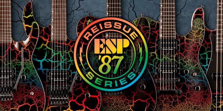 ESP LTD '87 Reissue Series переиздание электрогитар и басов из 1980-х