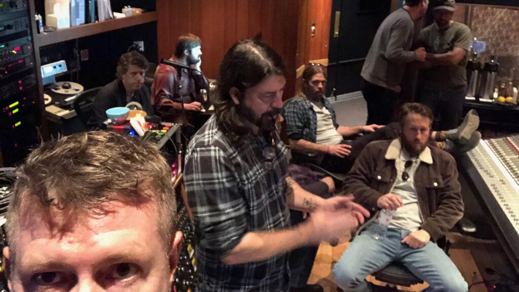 Foo Fighters в студии