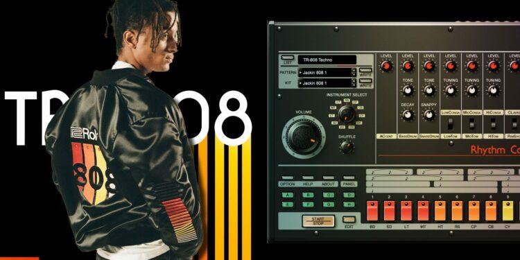 Куртка Roland 808 Bomber Jacket в стилистике Roland TR-808