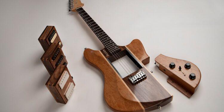 Модульная электрогитара Reddick Guitars Voyager Modular Guitar