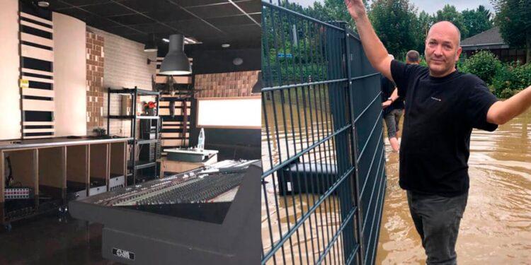 Наводнение в Германии уничтожило студию Brainworx