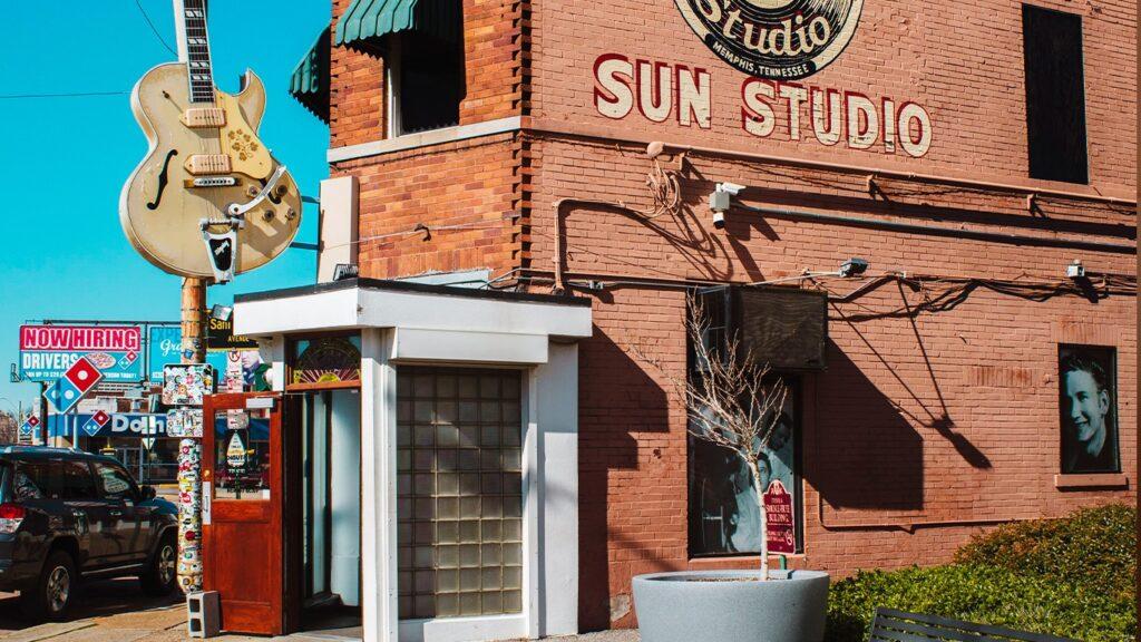 Студия Sun Records в Мемфисе