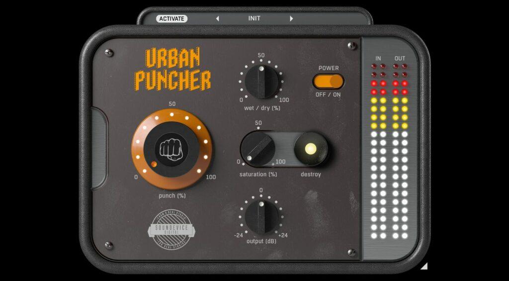 United Plugins Urban Puncher GUI