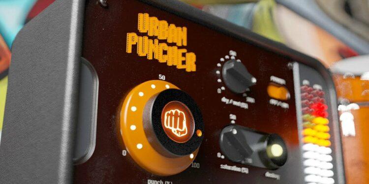 United Plugins Urban Puncher плагин для обработки ударных и придания дополнительного панча