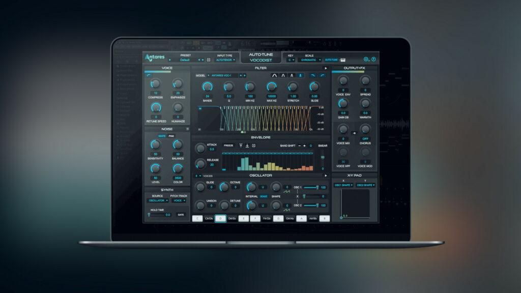 Antares Auto-Tune Vocoder GUI