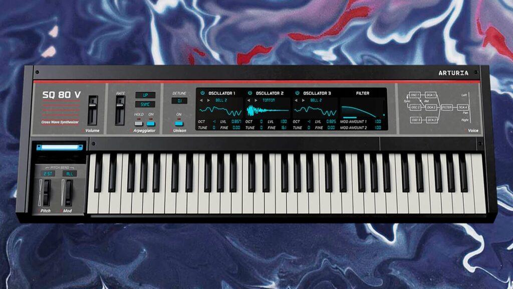 Arturia SQ-80V VST-синтезатор копия Ensoniq SQ-80