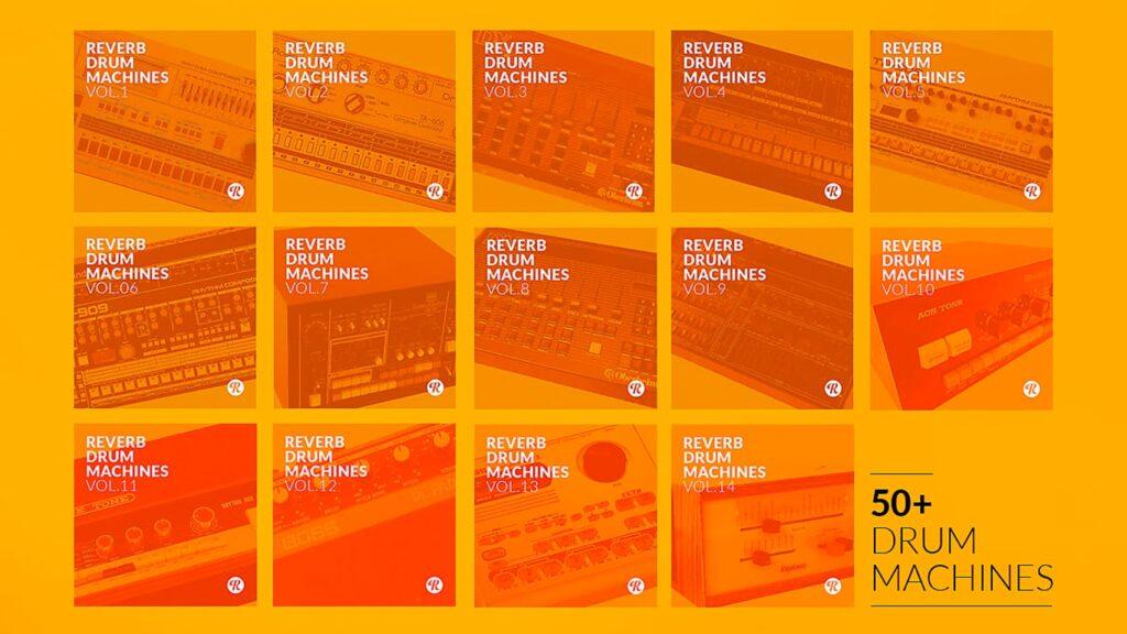 Бесплатная коллекция сэмплов винтажных драм-машин от Reverb Drum Machines   The Complete Collection