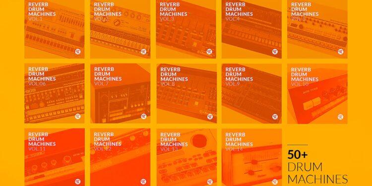 Бесплатная коллекция сэмплов винтажных драм-машин от Reverb Drum Machines | The Complete Collection