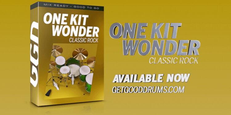 GetGood Drums One Kit Wonder Classic Rock VST-барабаны для классического рока