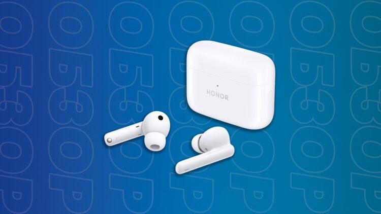 Honor Earbuds 2 Lite обзор беспроводных наушников с шумоподавлением