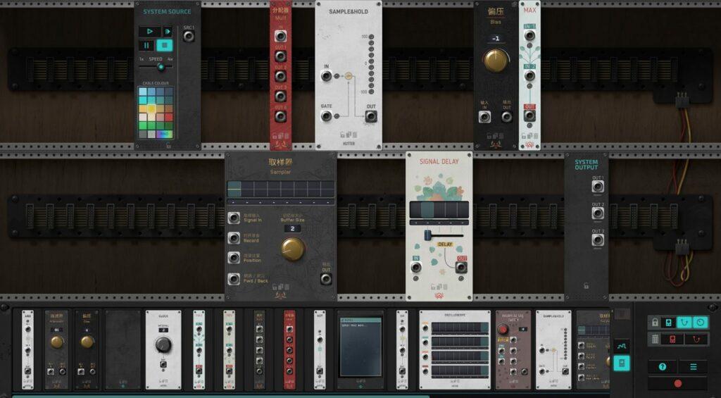 The Signal State компьютерная игра про модульные синтезаторы и спасение человечества
