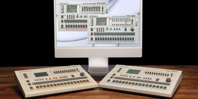 VST-плагины Roland TR-707 TR-727 появились в Roland Cloud