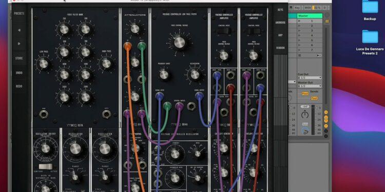 VST-синтезатор Moog Model15
