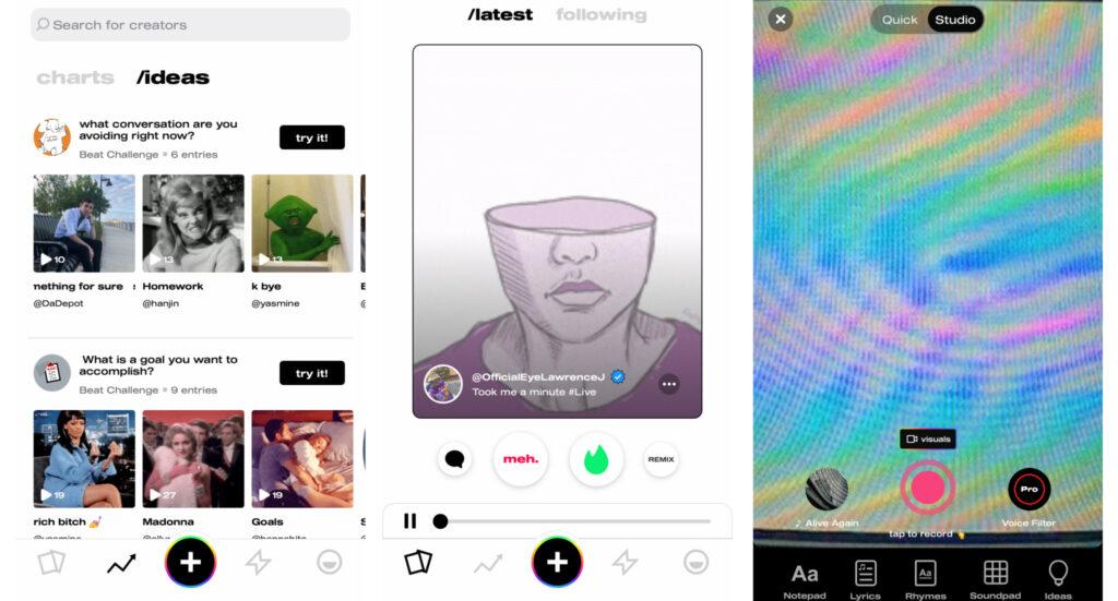 mayk.it скриншоты нового музыкального приложения