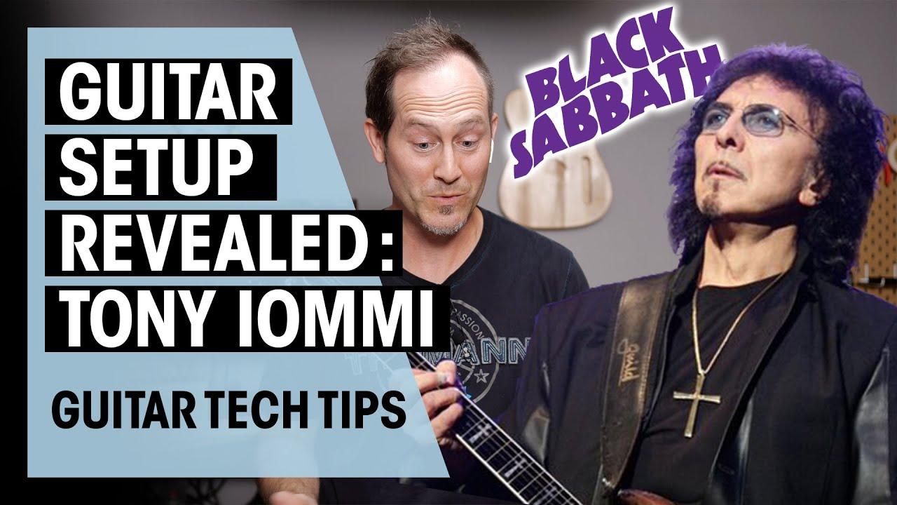 Видео дня: гитарный техник Тони Айомми рассказал об особенностях настройки электрогитар музыканта