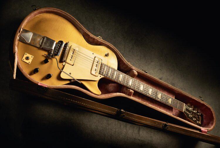 Первый Gibson Les Paul ушёл смолотка за$930000