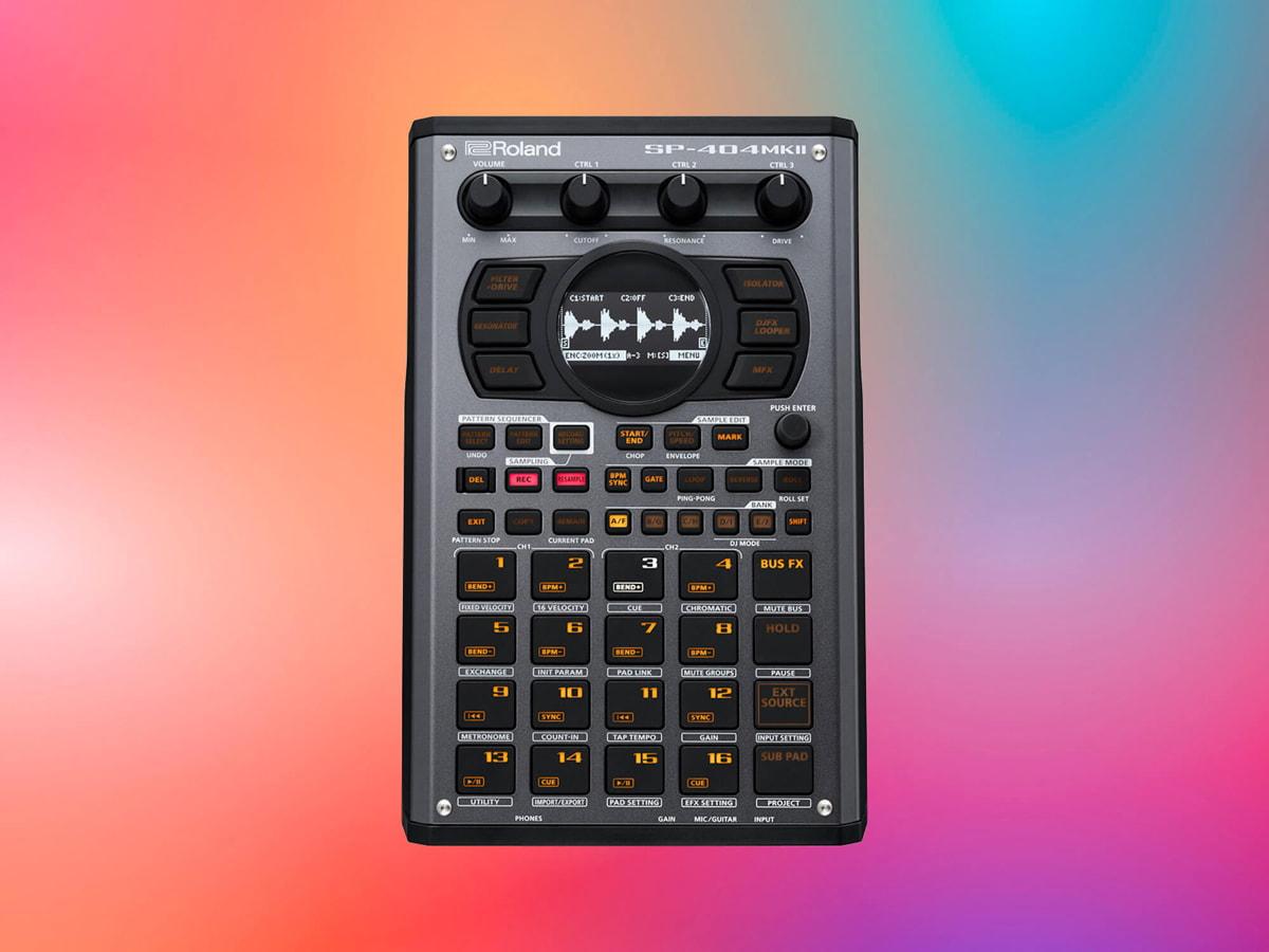Roland представили SP-404MKII— креативный сэмплер сDJ-режимом иредактированием звуковых волн
