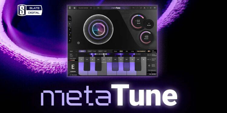 Slate Digital metaTune новый VST корректор питча